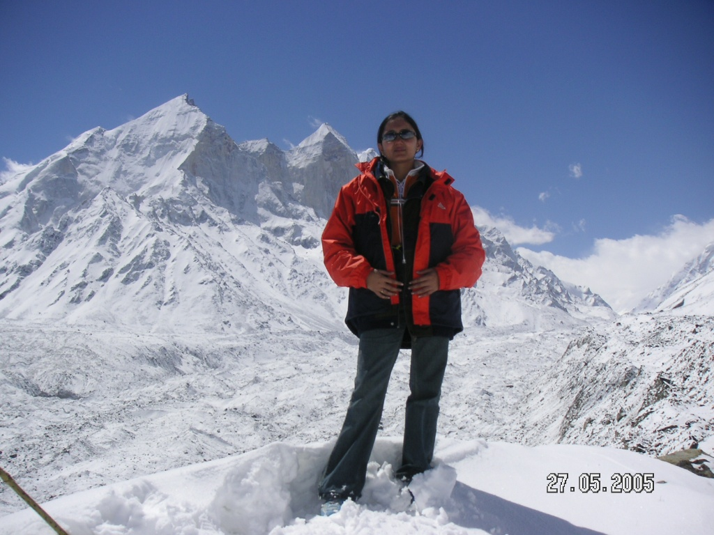 Tapovan India  City new picture : AT TAPOVAN WITH GANGOTRI GLACIER IN BACKGROUND India Travel Forum ...