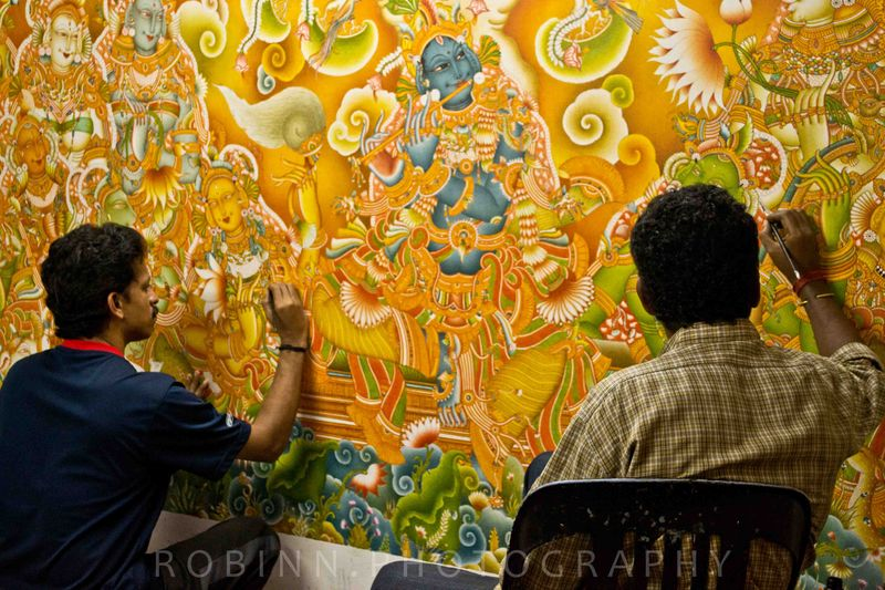 Painting murals india travel forum for Mural painting images