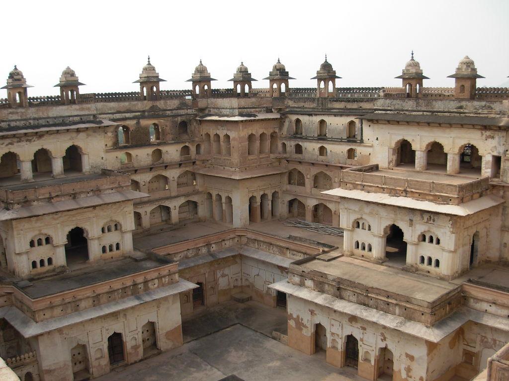 Courtyard -Raja Mahal