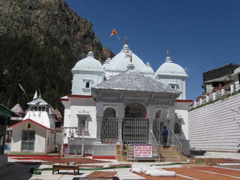 Gangotri Temple The main Gangotri Temp...