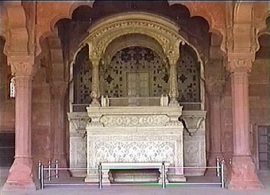 Dewan e aam delhi fort india travel forum for Diwan i aam images