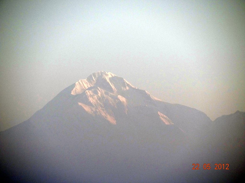 trishul peak from Binsar