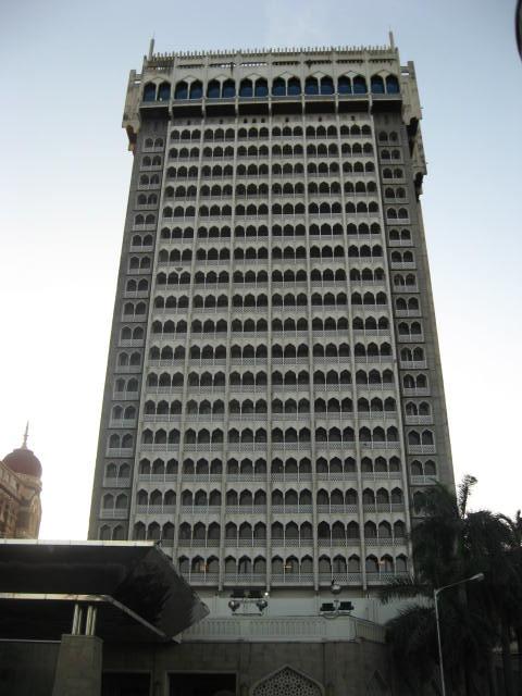 Taj Mahal hotel tower,Mumbai 2008