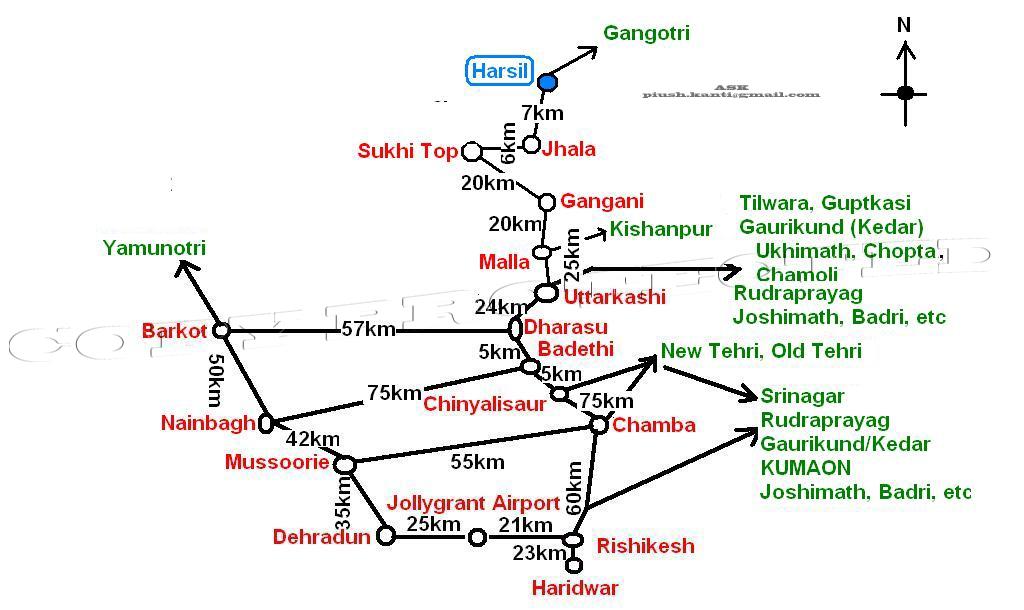 Hari Sila Or Harsil A Secret Treasure Of Garhwal India Travel Forum Indiamike Com