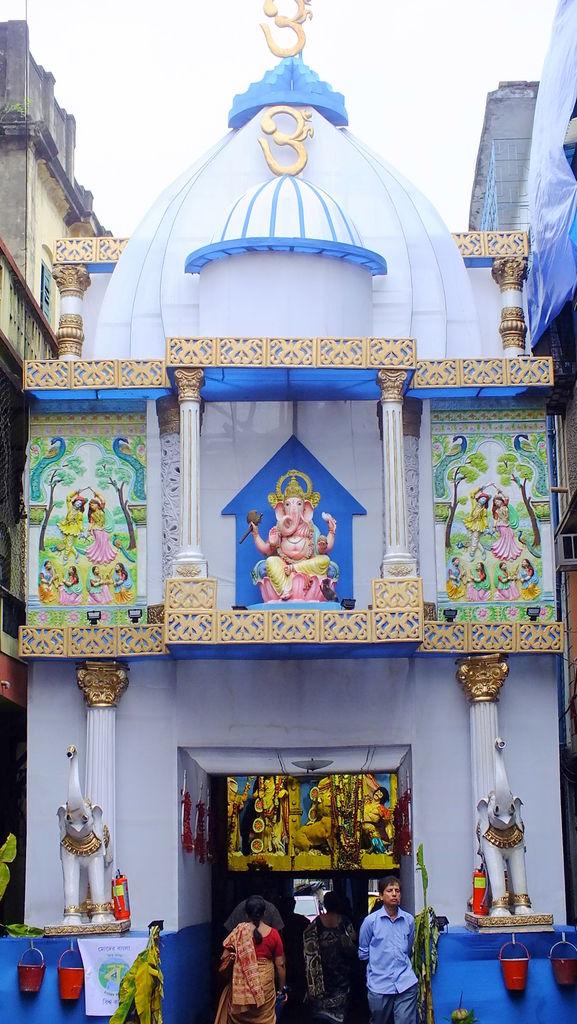 Decorated pandals during durga puja in kolkata india travel forum decorated pandals during durga puja in kolkata altavistaventures Images