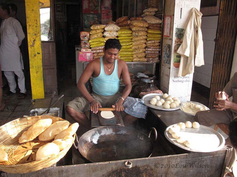 Puri Making