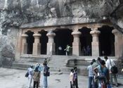 Elephanta Island Caves by Mega City.  Tags: caves, Elephanta Island.