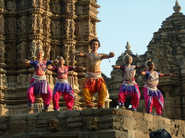 Khajuraho Dance Performance