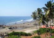 Vagator Beach, Goa by Dipanjan.  Tags: Goa, Vagator Beach, beach.