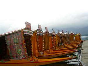 Shikaras Dall Lake