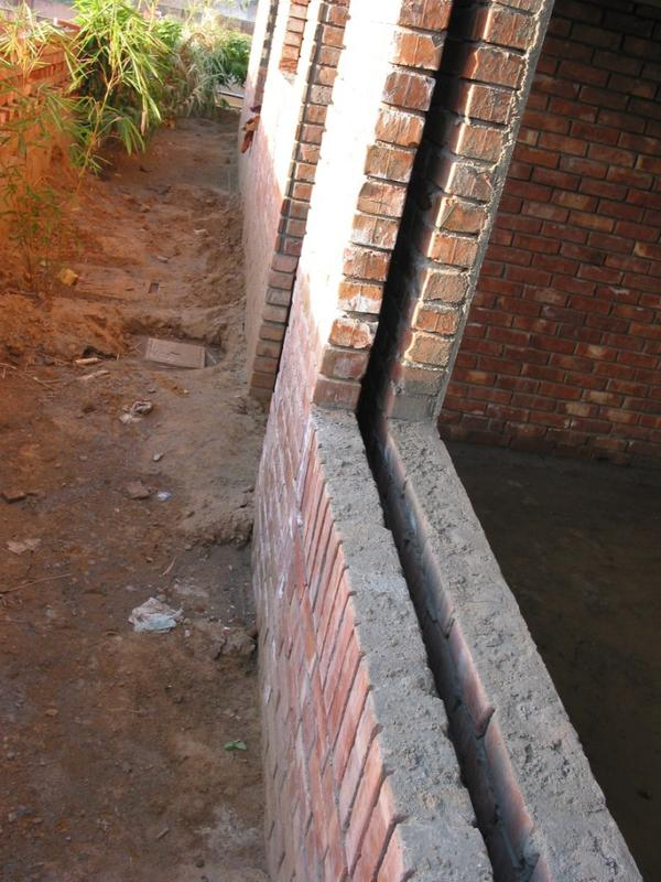 Cavity Wall Construction : Building a house in kumaon hills page india travel