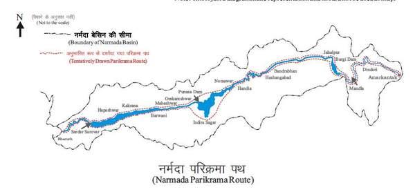 Narmada Parikrama Map.jpg