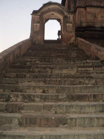 Name:  Steps of Chatturbhuj Temple.jpg