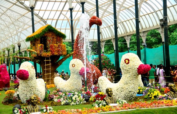 Lalbagh flower show india travel forum for Gardening tools in bangalore