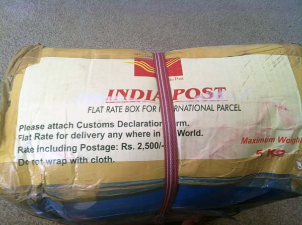 Indian postal service parcel charges to usa