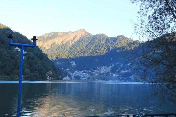 Naini Lake at morning Haze.jpg