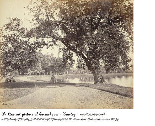 Barrackpore Park - Lake scene - 1865.jpg