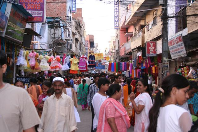 Afternoon In Paharganj Red