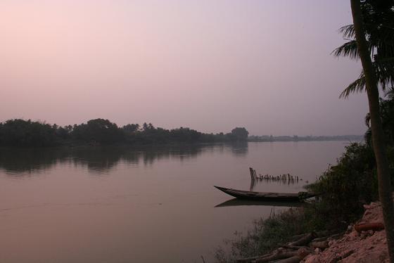 Idyllic Ganga River red.JPG