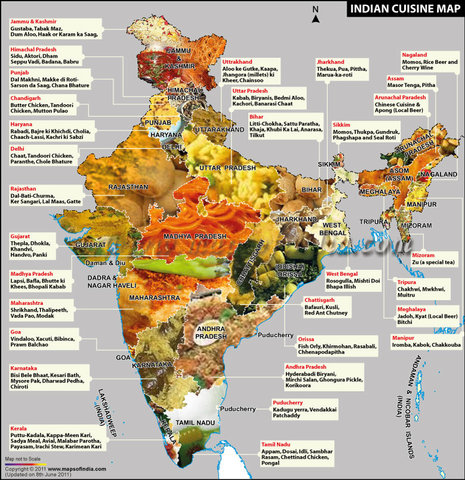 India geography learning resource india travel forum for All about indian cuisine
