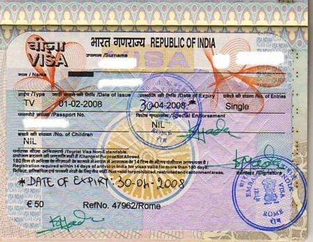 visa by aadhaar card